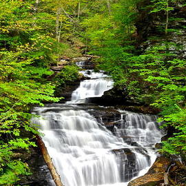 Frozen in Time Fine Art Photography - Mohican Falls
