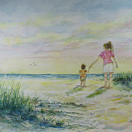 Janis Lee Colon - Mommy and Me at the Beach