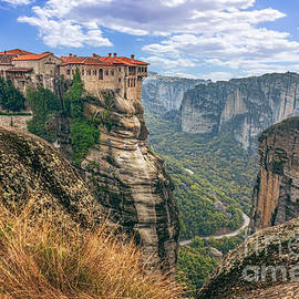 Dragomir Nikolov - Monastery from Meteora-Greece