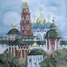 Khromykh Natalia - monastery of Sergiev Posad-1