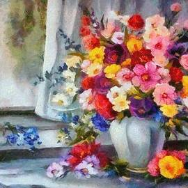 Catherine Lott - Monet Floral Edged