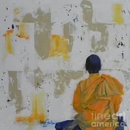 Jolanta Shiloni - Monk In Meditation