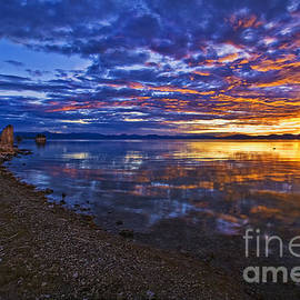 Priscilla Burgers - Mono Lake Sunrise