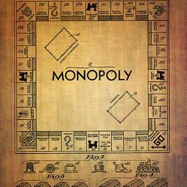 Eti Reid - Monopoly board game apparatus from 1935