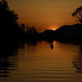 Bob VonDrachek - Montague Harbor Sunset