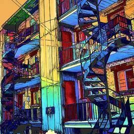 Daniel Castonguay - Montreal. Abstract city.