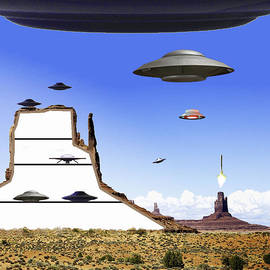 Bruce Iorio - Monument Valley Space Base