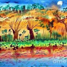 Roberto Gagliardi - Moon over the Kimberley Australia