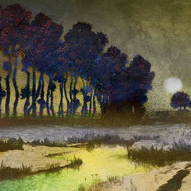 R christopher Vest - Moonlight On A Dutch Marsh