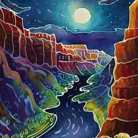 Harriet Peck Taylor - Moonlit Canyon