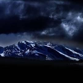 George Cousins - Moonlit Mountains
