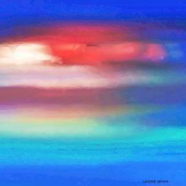 Lenore Senior - Moonrise on the Ocean
