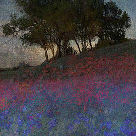 R christopher Vest - Moonrise Through The Oak