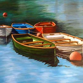 Shylaja Nanjundiah - Moored Boats