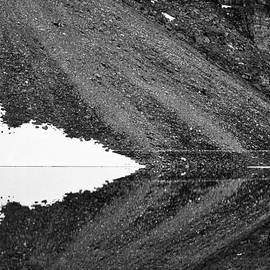 Stuart Litoff - Moraine Lake Abstract - Black and White