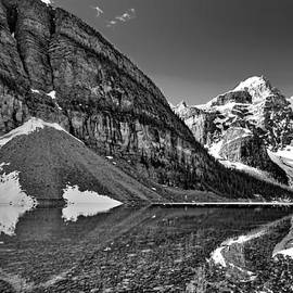 Stuart Litoff - Moraine Lake - Black and White #3