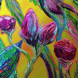 Karen Harding - More flower art