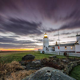 Jatinkumar Thakkar - Morning at Pemaquid Point
