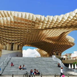 Mary Machare - Morning at the Metropol Parasol