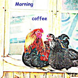 Hilde Widerberg - I love my morning coffee time with my darling