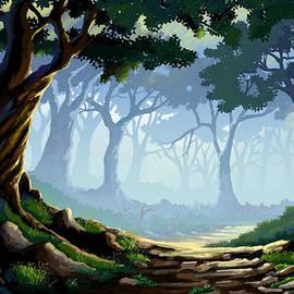 Anthony Mwangi - Morning Forest Mist