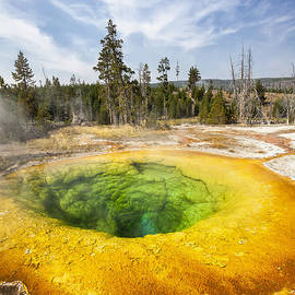 Bryan Mullennix - Morning Glory Pool in Yellowstone National Park