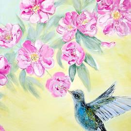 Oksana Semenchenko - Morning In My Garden. Card