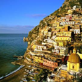 Cliff Wassmann - Morning Light Positano Italy