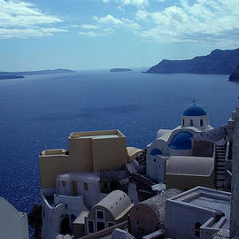 Colette V Hera  Guggenheim  - Morning Meditation Santorini Island Greece