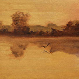 Fred Paddock - Morning Pond 2