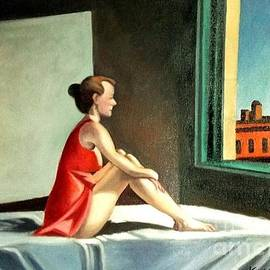 Kostas Koutsoukanidis - Morning Sun after E.Hopper