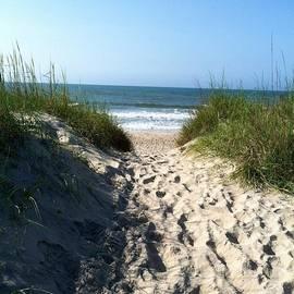 Asuncion Purnell - Morning walk on the beach