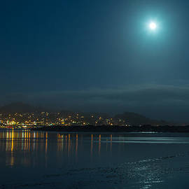 Terry Garvin - Morro Bay at Night