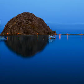 Terry Garvin - Morro Bay Calm Morning