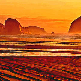 Bob and Nadine Johnston - Morro Rock Painting