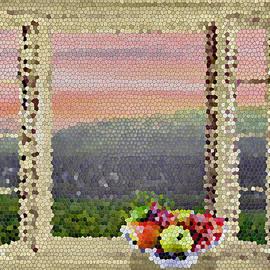 Nina Bradica - Mosaic Window