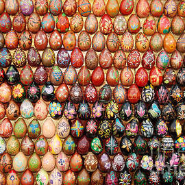 Eva Kaufman - Mosaic with Wooden Easter Eggs