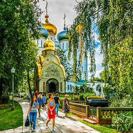 Alexander Senin - Moscow Novodevichy Convent Entrance