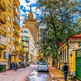 Alexander Senin - Moscow - Sivtsev Vrazhek Lane