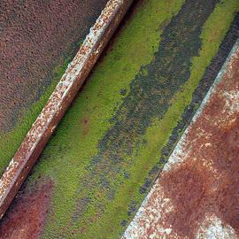 Tom Druin - Moss Green-raw Steel