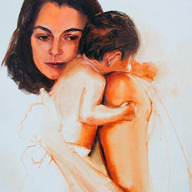 Greta Corens - Mother and child