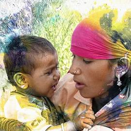Sue Jacobi - Mother and Child Harvest India Rajasthan