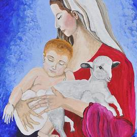 Sally Rice - Mother Mary and Baby Jesus