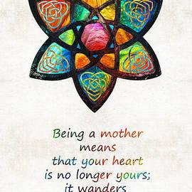 Sharon Cummings - Mother Mom Art - Wandering Heart - By Sharon Cummings