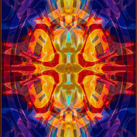 Omaste Witkowski - Mother of Eternity Abstract Living Artwork