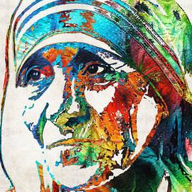 Sharon Cummings - Mother Teresa Tribute by Sharon Cummings