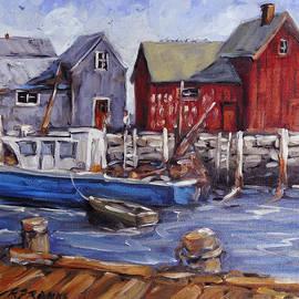 Richard T Pranke - Motif I - Wharf Scene