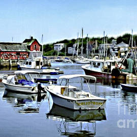 Nadine and Bob Johnston - Motif Number 1 Rockport Massachusetts
