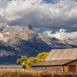 Kathleen Bishop - Moulton Barn in the Tetons