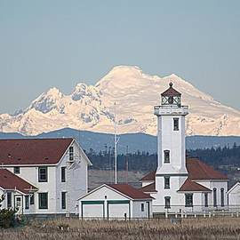 Lynn Bawden - Mount Baker and Point Wilson Light Station